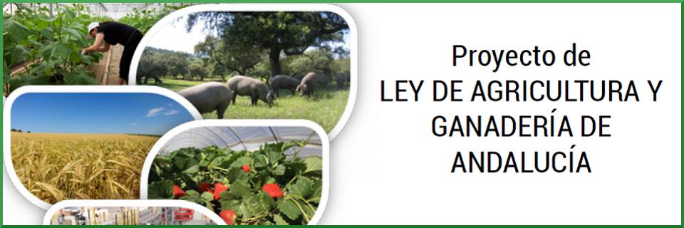 Proyecto de Ley de Agricultura y Ganadería de Andalucía