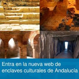 Entra en la nueva web de enclaves culturales de Andalucía