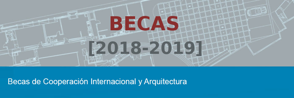Becas de cooperación internacional y arquitectura
