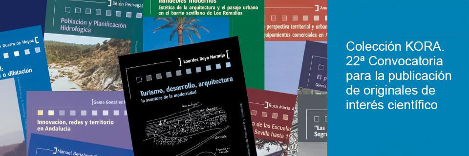 Colección Kora. 22ª Convocatoria para la publicación de originales de interés científico