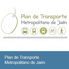 Plan de Transporte Metropolitano de Jaén. Plan de Movilidad Sostenible