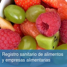 Registro sanitario de Empresas Alimentarias y Alimentos