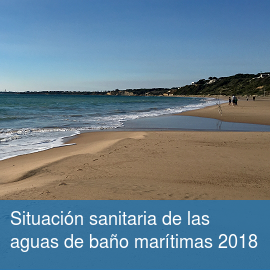 Situación sanitaria de las aguas de baño marítimas 2018