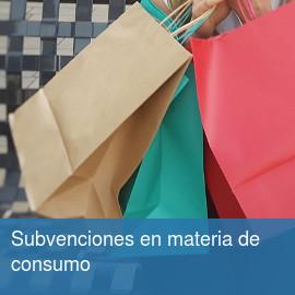 Subvenciones en materia de consumo