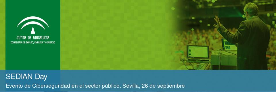 Evento de Ciberseguridad en el sector público. Sevilla, 26 de septiembre