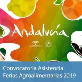 Convocatoria asistencia a ferias agroalimentarias 2019 (Temáticas)