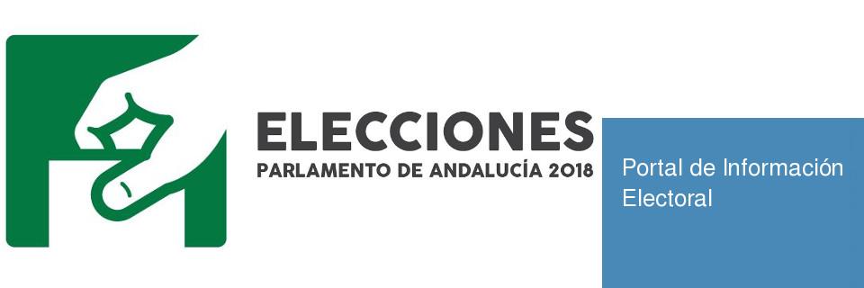 Elecciones Parlamento de Andalucia 2018