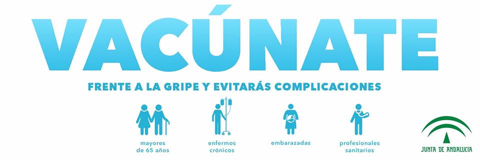 Vacúnate frente a la Gripe - Campaña 2018-2019