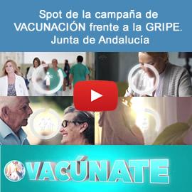 Spot de la campaña de vacunación frente a la gripe. Junta de Andalucía