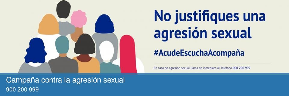 Campaña contra la agresión sexual