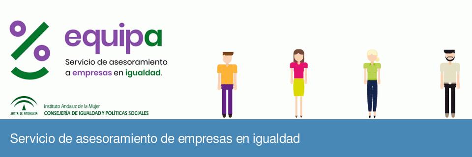Servicio de asesoramiento para empresas en igualdad