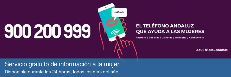 900 200 999: Teléfono de información a la mujer
