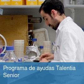 Programa de ayudas Talentia Senior