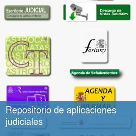 Repositorio aplicaciones judiciales