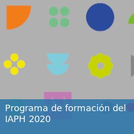 Programa de formación 2020