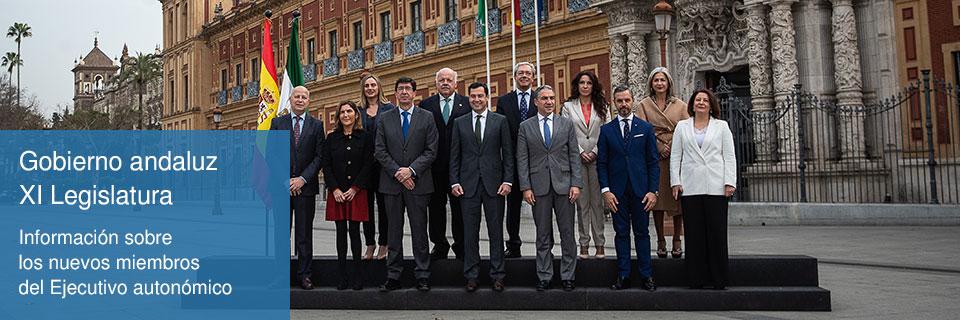 Gobierno Andaluz XI Legislatura slider especial