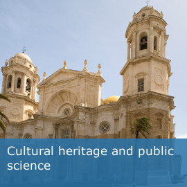 Cultural heritage and public science