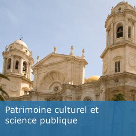 Patrimoine culturel et science publique