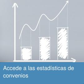 Accede a las estadísticas de convenios