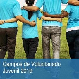 Campos de Voluntariado Juvenil 2019