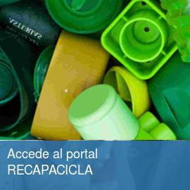 Accede al portal RECAPACICLA