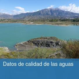 Datos de calidad de las aguas