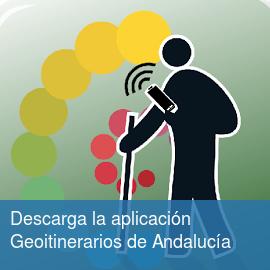 Descarga la aplicación Geoitinerarios de Andalucía