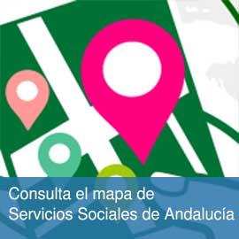 Consulta el mapa de Servicios Sociales de Andalucía