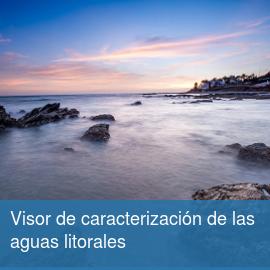 Visor de caracterización de las aguas litorales