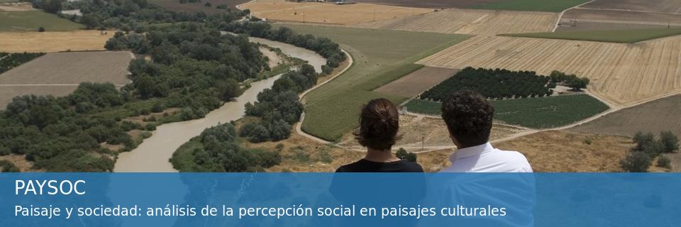 PROYECTO PAYSOC Percepción social del paisaje y etnografía virtual