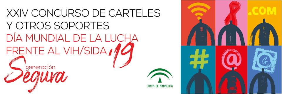 XXIV Concurso de carteles y otros soportes del día mundial de la lucha frente al VIH/SIDA 2019