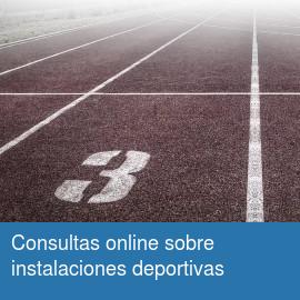 Consulta online sobre instalaciones deportivas