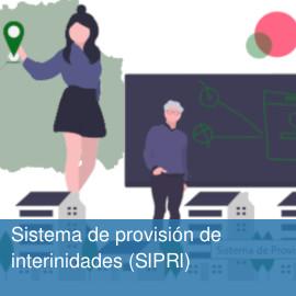 Sistema de provisión de interinidades (SIPRI)