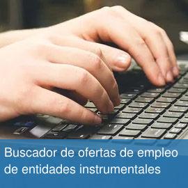 Buscador de ofertas de empleo de entidades instrumentales