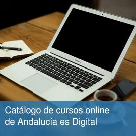 Catálogo de cursos online de Andalucía es Digital