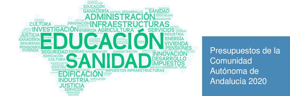 Presupuestos de la Comunidad Autónoma de Andalucía 2020
