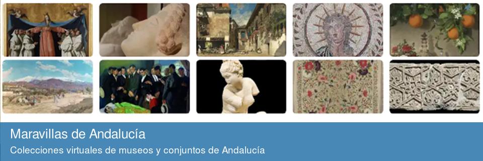 Coleccion virtuales de museos y conjuntos de Andalucía