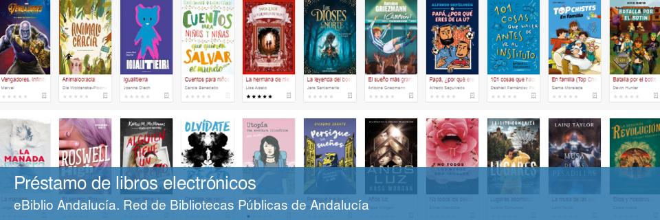 eBiblio Andalucía. Préstamo de libros electrónicos