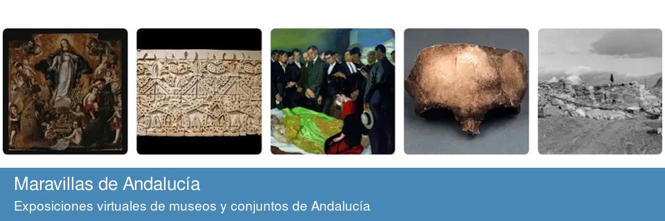 Exposiciones virtuales de museos y conjuntos de Andalucía