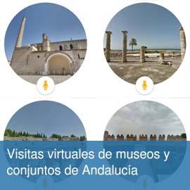 Visitas virtuales de museos y conjuntos de Andalucía