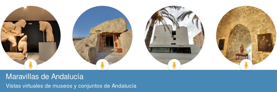 Vistas virtuales de museos y conjuntos de Andalucía