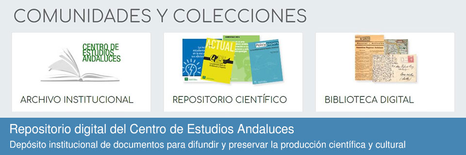 Repositorio digital del Centro de Estudios Andaluces