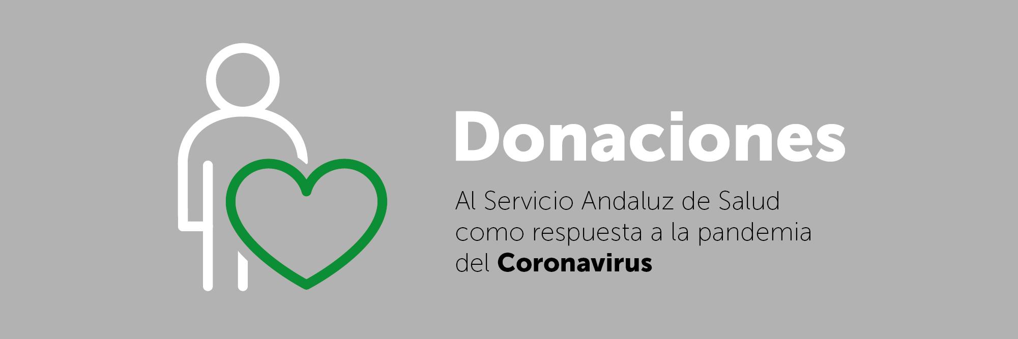 Donaciones al Servicio Andaluz de Salud