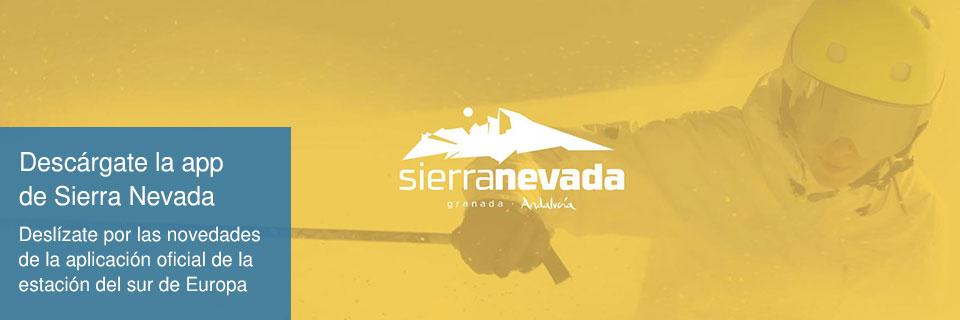 Descárgate la app de Sierra Nevada