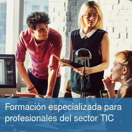 Formación especializada para profesionales del sector TIC