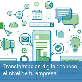 Transformación digital: conoce el nivel de tu empresa