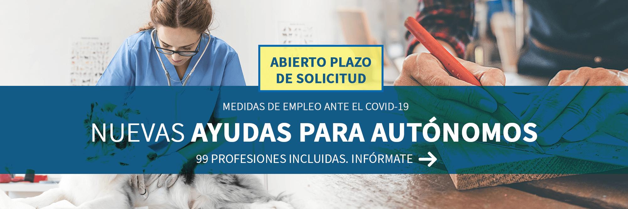 Nuevas ayudas para autónomos - Medidas de empleo ante el COVID 19