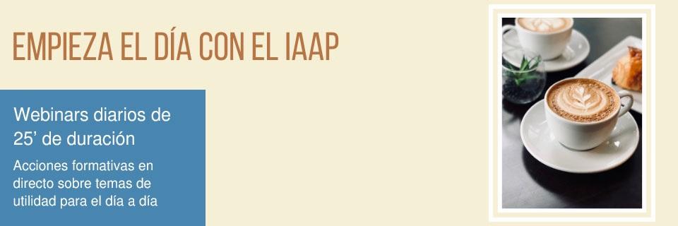 Empieza el día con el IAAP