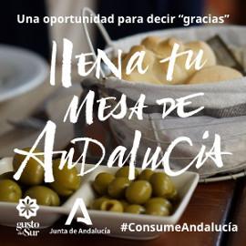 Llena tu mesa de Andalucía