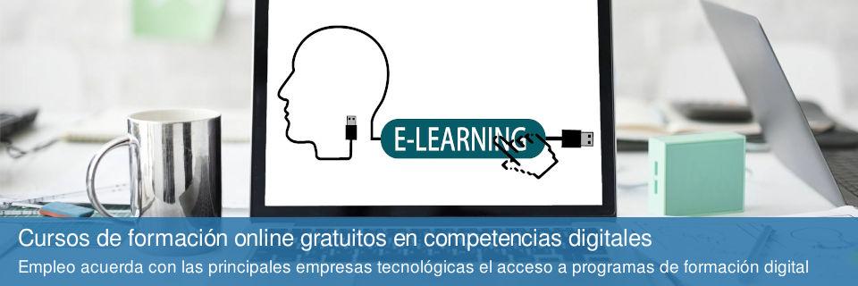 Cursos de formación online gratuitos en competencias digitales
